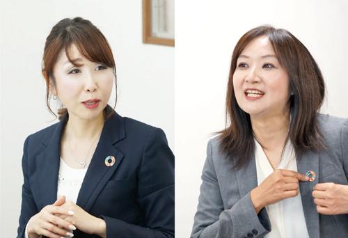 直井 美香 / 駿河 幸子